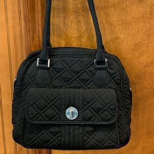 Vera Bradley handbag in classic black